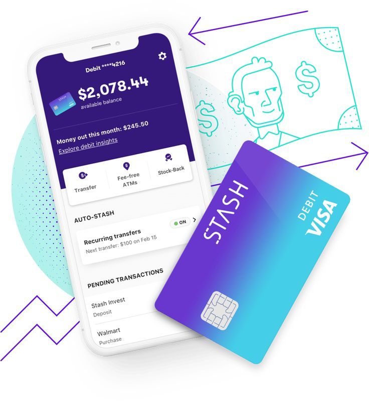 Bank smarter with stash your online bank account has no