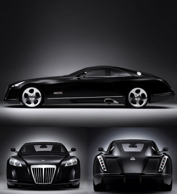 Black Maybach Exelero This is what $8mil gets you