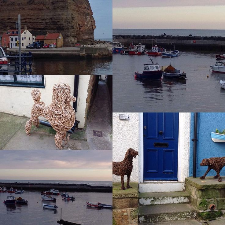 Beautiful #Staithes. Here again at the start of our annual October half term holiday with grandchildren. #northyorkshire #seaside #happytimes #crabbing #rock pools #fossils #familyfun