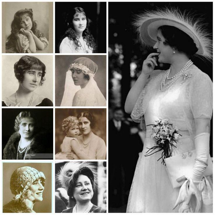 Королева  Елизавета  -  Королева - мать,  жена  короля  Георга VI,  мать  королевы  Елизаветы II.