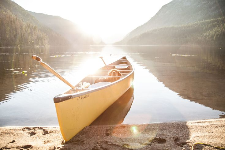 Bucket List: Get a canoe and explore Canada's rivers and lakes. Photo by Lightwell Photo (Victoria, British Columbia).