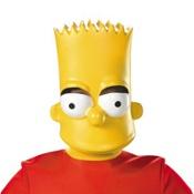 Child Plastic Bart Simpson Mask