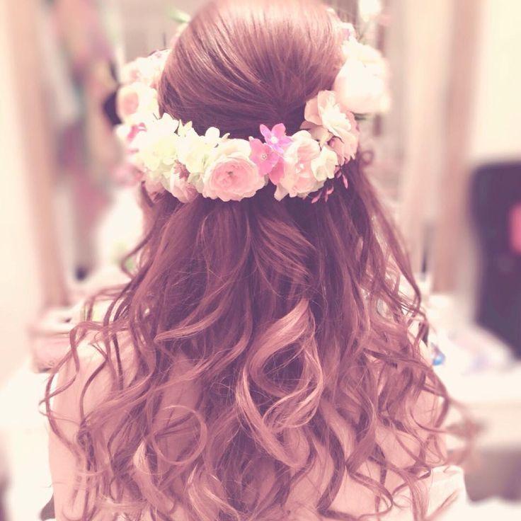 \インスタでみつけたっ✡/女の子らしさナンバーワンの〔ダウンヘア〕がとにかく可愛いアレンジカタログ♡ | marry[マリー]