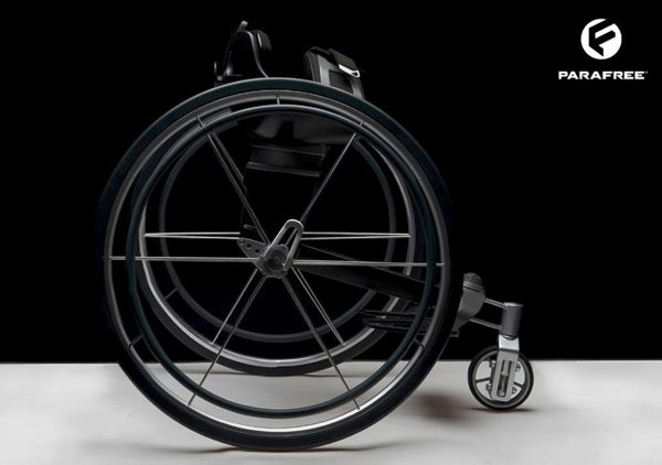 "Felix Lange Wheelchair Design.  ""Get In Gear"" Wheelchair accessories  www.WheelchairGear.com"