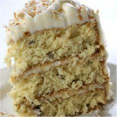 Italian Cream Cake Recipe~