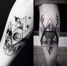#tattoofriday, brasileiro Ricardo Garcia - Blackwork tattoos e pontilhismo;
