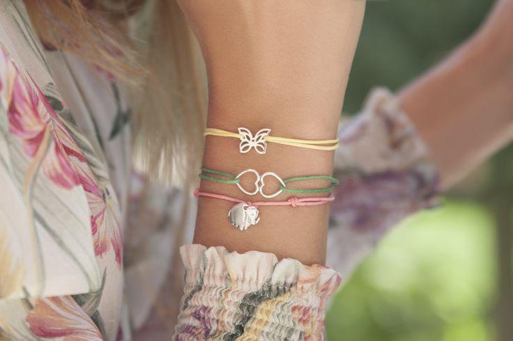 #bracelets #butterfly #hearts #elephant #colourful #bemylilou #mothersday #jewelry #fashion
