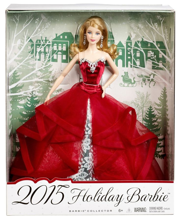 Amazon.com: Barbie Collector 2015 Holiday Doll: Toys & Games