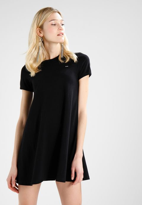 Wood Wood IDA DRESS - Jersey dress - black for £99.99 (26/02/18) with free delivery at Zalando