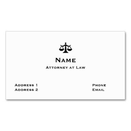 72 Best Lawyer Business Card Ideas Images On Pinterest Business