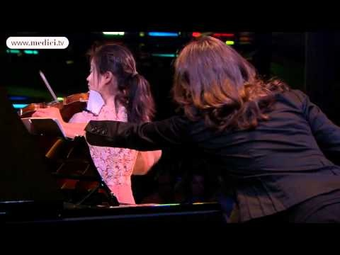 Sayaka Shoji and Nelson Goerner - Brahms, Sonata No. 3    Excerpt from a performance at the Verbier Festival 2011, broadcast live and free of charge on medici.tv.    Johannes Brahms  Sonata for violin and piano No. 3 in D minor, Op. 108  4. Presto agitato    Sayaka Shoji, violin  Nelson Goerner, piano    Directed by Pierre-Martin Juban