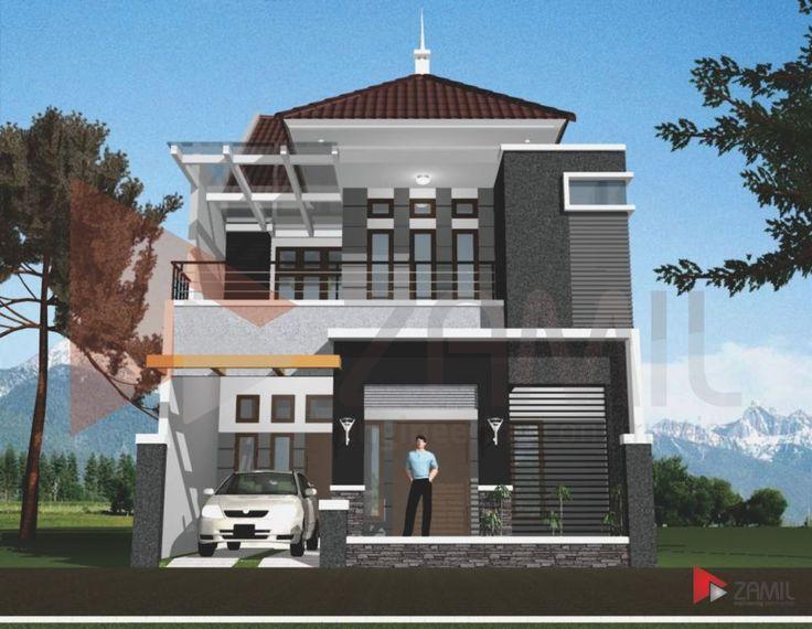 18 Desain Rumah Minimalis Modern 2 Lantai | Desain Rumah Modern