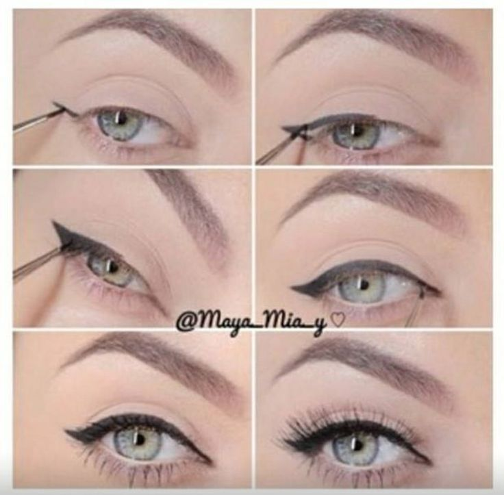 102 best images about Winged Eyeliner on Pinterest | Perfect ...