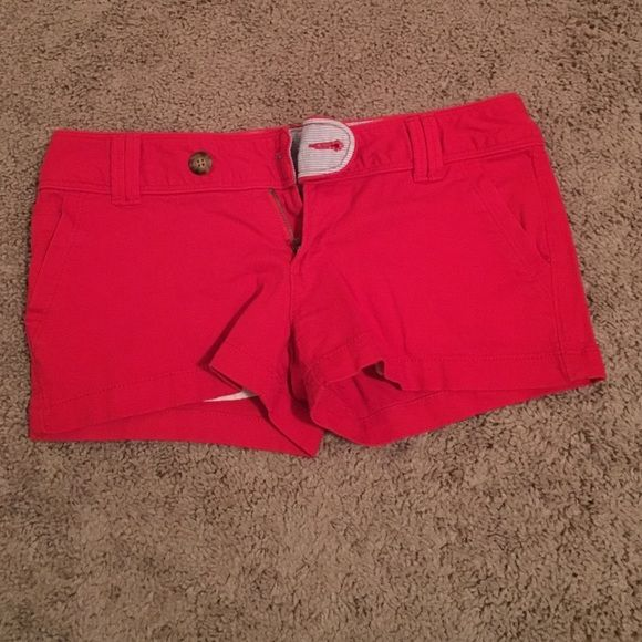 Red shorts Red camel shorts super comfy and stretchy Red Camel Shorts