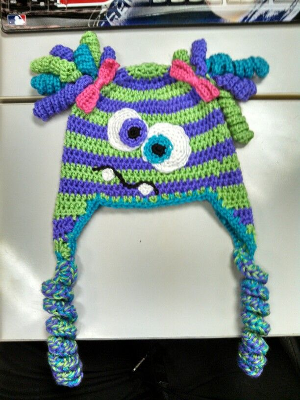 My newest monster. Finished just in time for Natalies ...