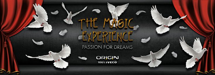 "In occasion of the Week of Magic in Turin AR-Code created the game ""The Magic Experience"" in collaboration with Iveco."