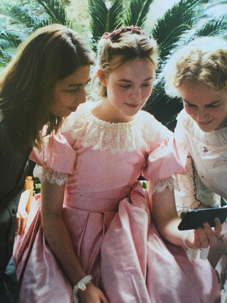 BTS of The Beguiled with Elle Fanning, Nicole Kidman and Sofia Coppola