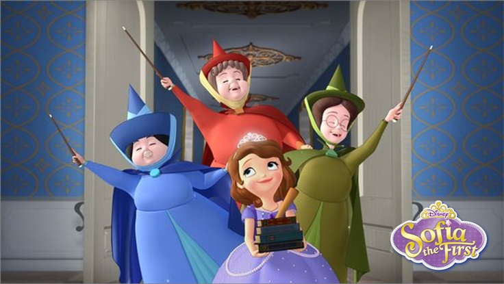 Sofia joins Royal Prep in Sofia the First: Once Upon A Princess! Disney Junior