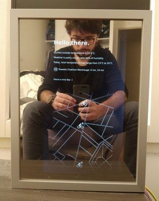 I built my own smart mirror for less than $50 : raspberry_pi