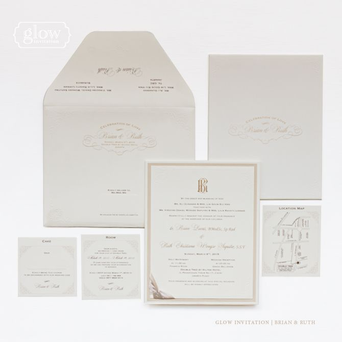 This is incredible! Unique work by  glow invitation http://www.bridestory.com/glow-invitation/projects/classic-elegant-collection