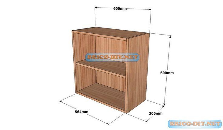 M s de 25 ideas incre bles sobre hagalo usted mismo for Planos muebles madera