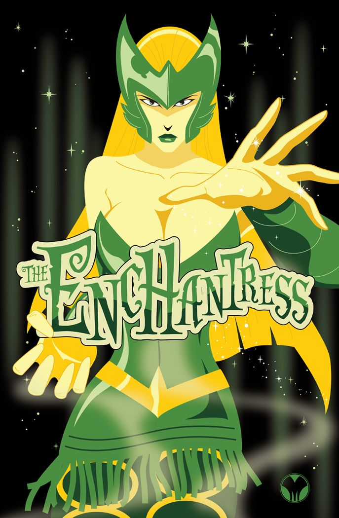 The Enchantress  by *MikeMahle    She is probably one of the best Marvel supervillianesses.