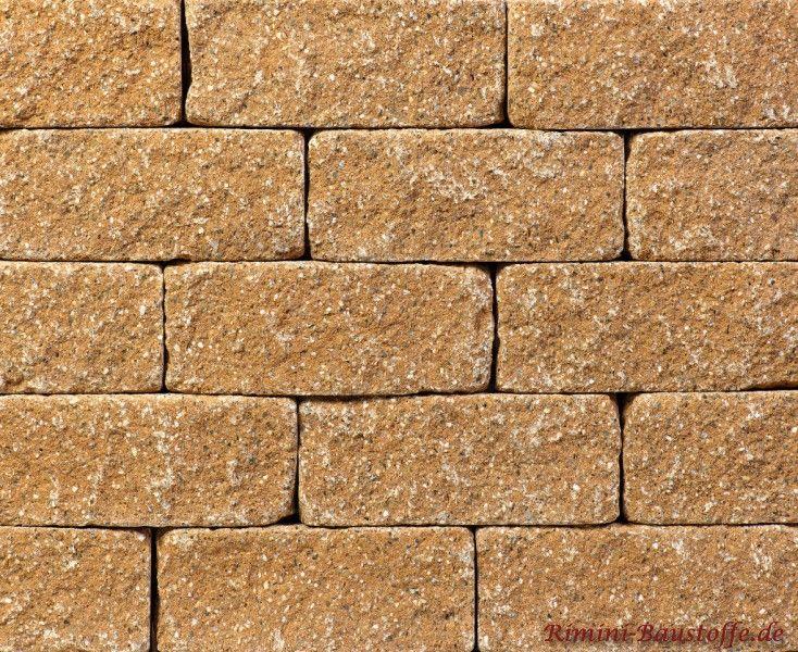 Mauersteine Terra in der #Farbe sandstein
