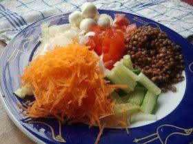 "Eten maken: Lunchsalade ""Verstandige Lunch"""