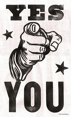 Poster. Yes You. CaribouInspires.com