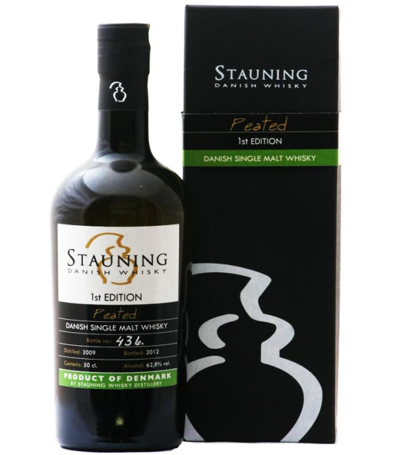 Stauning Peated 1st Edition Single Malt Whisky  http://whisser.com/2013/01/21/stauning-peated-1st-edition-at-the-distillery/