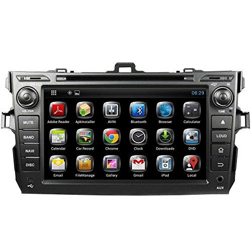 Witson 8 Inch Android 4.2.2 Car Pc DVD Player for Toyota Corolla 2006 2007 2008 2009 2010 2011 GPS Navigation Wifi Bluetooth Radio 1.6 Gb CPU Ddr3 Capacitive Touch Screen 3g Stereo Audio - http://www.productsforautomotive.com/witson-8-inch-android-4-2-2-car-pc-dvd-player-for-toyota-corolla-2006-2007-2008-2009-2010-2011-gps-navigation-wifi-bluetooth-radio-1-6-gb-cpu-ddr3-capacitive-touch-screen-3g-stereo-audio/