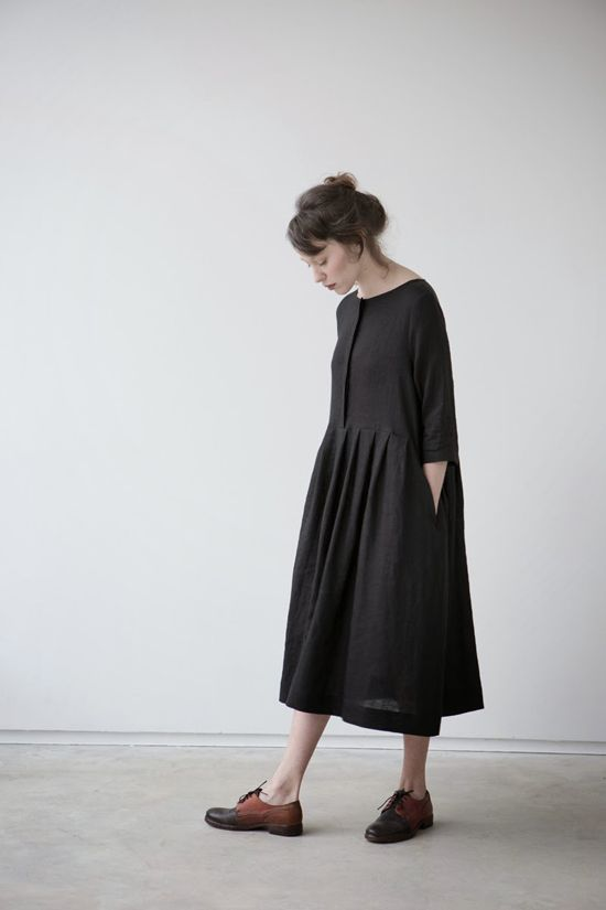 Black dress from MUKU #fashion