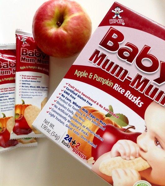 Наши любимые детские печенья Baby Mum-mum - Радость души и тела