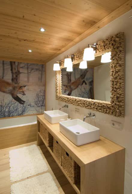 Die besten 25+ Rustikale badezimmer designs Ideen auf Pinterest ... | {Badezimmer rustikal und trotzdem cool 87}