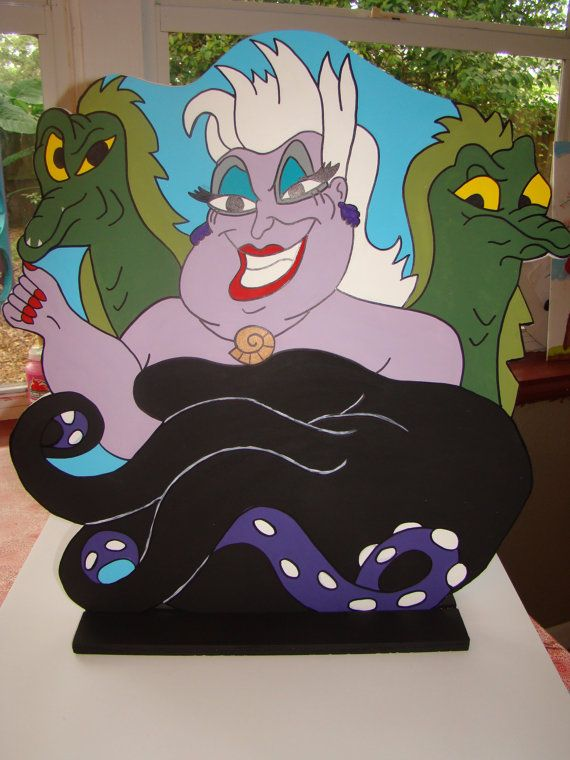 Ursula The Sea Witch The Little Mermaid Character
