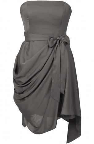 Here you go @Anne Kelly. I like it too. =]    Saphire Style Grey Hitched Dress Bridesmaid Dresses (SAP126)
