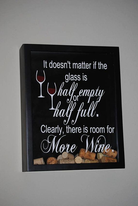 Personalized Top Load Wine Cork Holder.  I need one of these for my kitchen!!!
