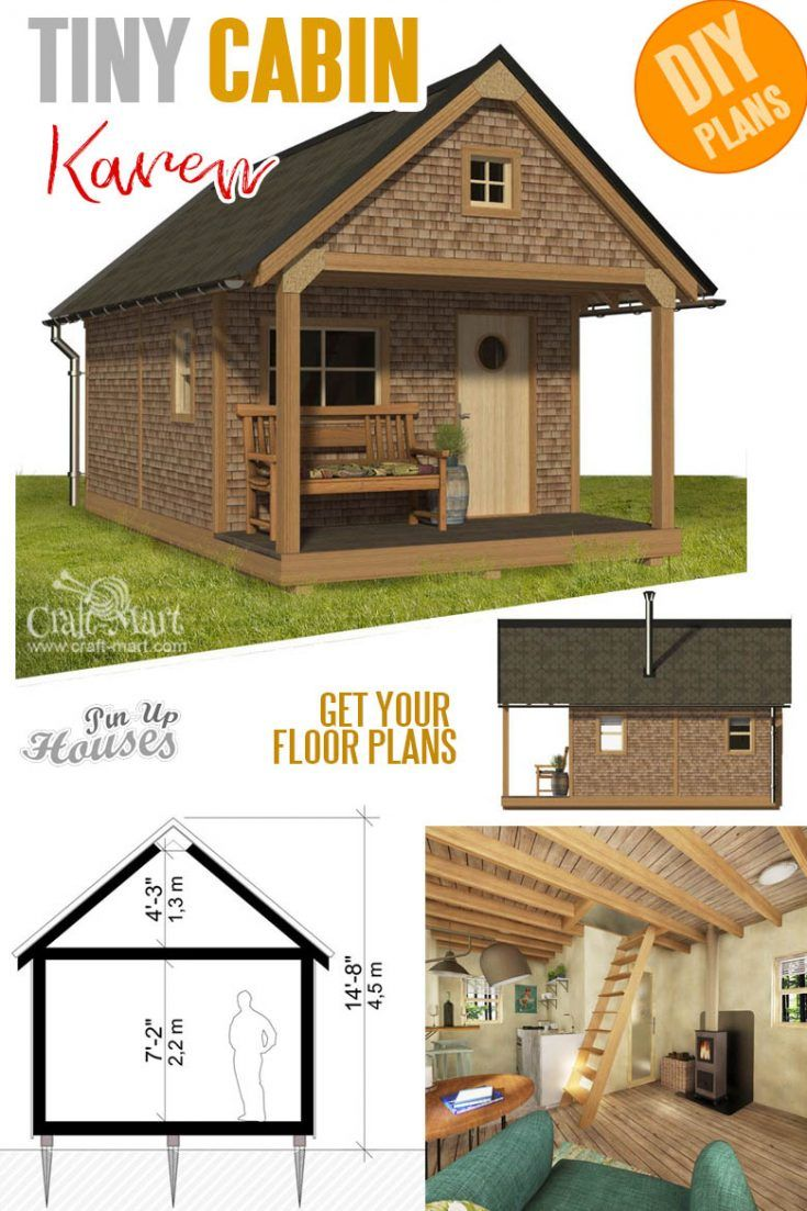 Basic Cabin Plans Small Cabin Plans Tiny House Plans Small Bungalow