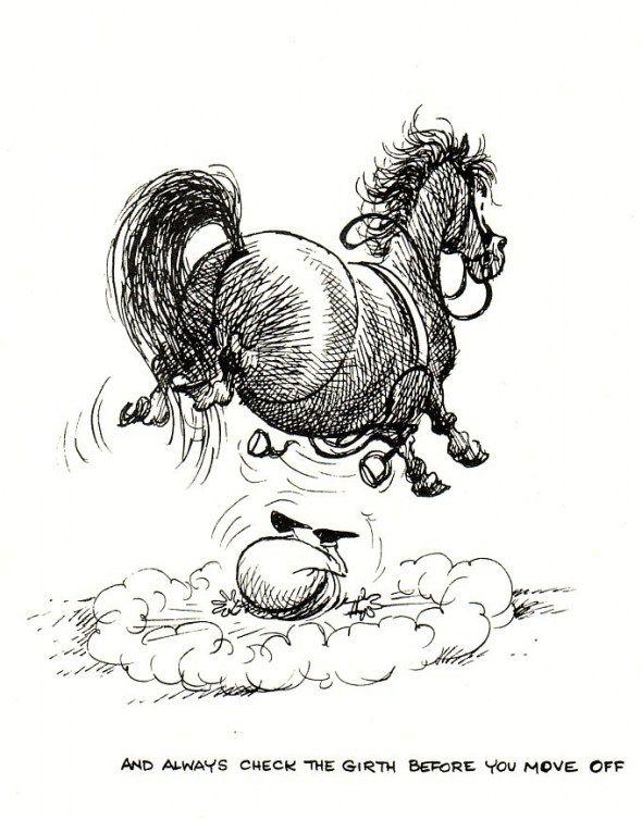 Смешные рисунки лошадок