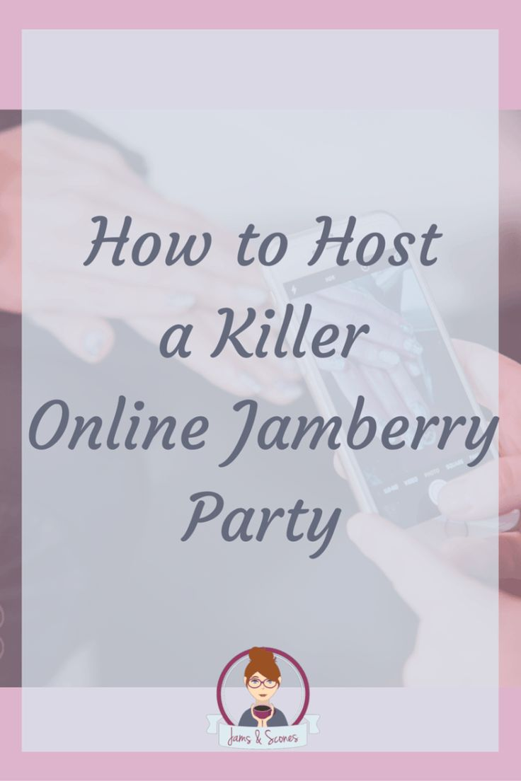 online Jamberry Party