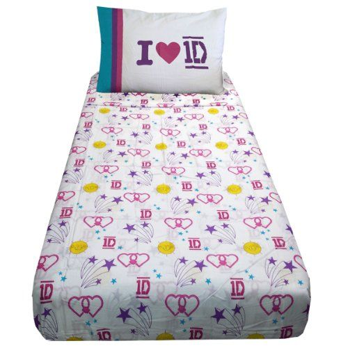 Delightful One Direction Twin Cotton Rich Sheet Set Global Http://www.amazon.