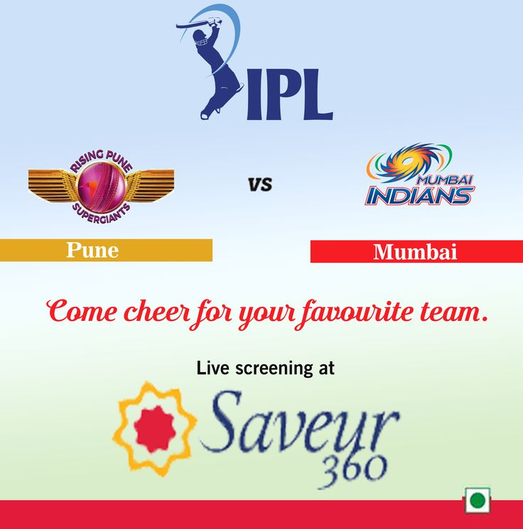 Rising pune supergiant or mumbai Indians? Which team do you think will make it to the next league?  Catch the craze with live screening and cheer your favorite team. Relish sinful global vegetarian cuisine with some t20 fun.