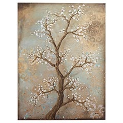 Better colors: Wall Art, Better Colors, Trees Art, Blossoms Wall, Cherries Blossoms Trees, Cherries Blossoms Living Rooms, Cherries Blossoms Paintings, Cherry Blossoms, Colors Inspiration