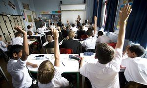 Poorer white pupils underperformed in later academic choices