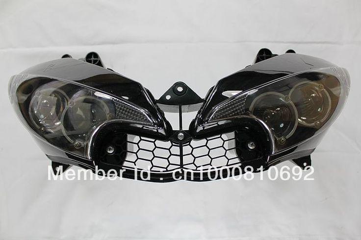 90.00$  Buy here  - Motorcycle Headlight Head Light Headlamp For Yamaha YZF R6 2003 2004 2005
