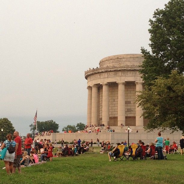George Rogers Clark Memorial in Vincennes, Indiana