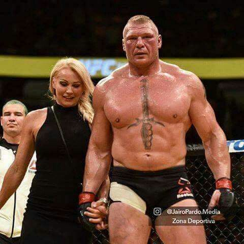 Brock Lesnar & Wife Sable