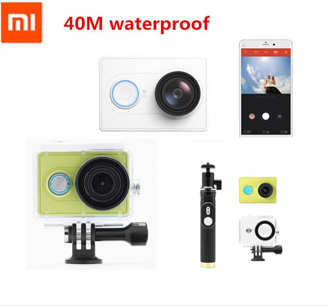 "In stock Original Xiaomi Yi Action Sport Camera Xiaoyi Sport Camera Xiaomi Sport Camera 16MP 1920x1080p WIFI Bluetooth4.0 Sealed US $72.99-156.99 /piece Specifics Additional Function 	Support WIFI is_customized 	Yes Screen Size 	< 2"" High Definition Support 	1080P (Full-HD)  Click to Buy:http://goo.gl/Ld8Y6A"
