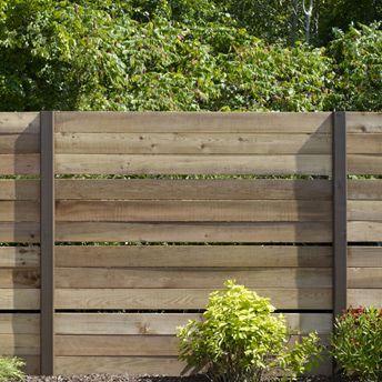 Panneaux de clôture ajourée en cèdre - DIY