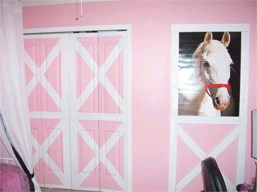 Kids Wall Art: UNIQUE Pony Bedroom!